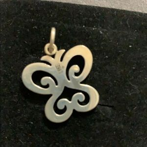 Sterling Silver James Avery Butterfly Pendant